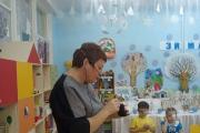 В Детском саду в гостях была тифлокомментатор Анна Михайловна